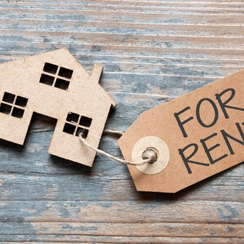 home-for-rent keychain